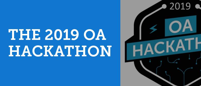 2019 OA Hackathon